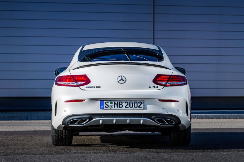 2017-mercedes-amg-c43-coupe-rear-end